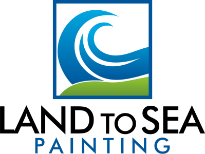 Land to Sea Painting Retina Logo